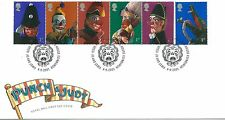 wbc. - GB - FIRST DAY COVER - FDC - COMMEMS -2001- PUNCH and JUDY - U/A Pmk TH