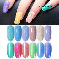 BORN PRETTY Cheese Fur Gel Polish UV LED Soak Off Nail Art  Base Topcoat