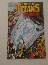 The New Teen Titans #56 July 1989 DC Comics