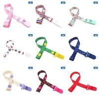 Baby Pacifier Clip Chain Dummy Holder For Nipples Children Pacifier AU sdRQv