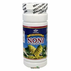 All Natural Noni Extract 400mg 180 Capsules, 6 Months Supply - FRESH - FREE SHIP
