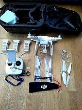 Dji phantom 3 professional  4k camera three batterys
