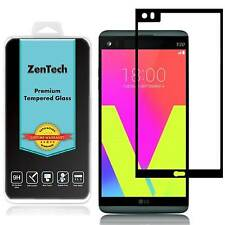 ZenTech® Tempered Glass [FULL COVER] Screen Protector Guard Shield For LG V20