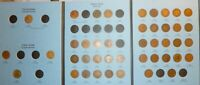1857 1909 Flying Eagle  Indian Head Cent Collection  #IC43 New Whitman Folder