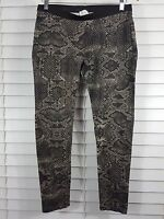 WITCHERY sz 12 womens python print Leggings / pants [#3453]