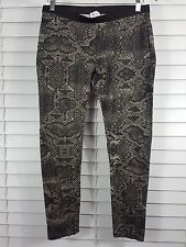 WITCHERY sz 12 womens python print Leggings / pants [#3453]