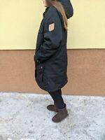 Fjallraven G-1000 Greenland Winter Women's PARKA Hooded sherpa Jacket Size XL