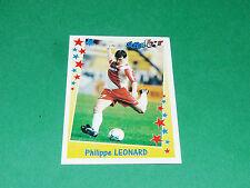 PANINI FOOTBALL SUPERFOOT 1998-1999 LEONARD BELGIË AS MONACO ROCHER LOUIS II ASM
