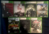 Xbox 360 Video Game Bundle (All Tested & Working 100%) [Used & Great Condition]