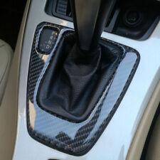 Carbon Fiber Gear Shift Box Panel Cover Sticker Interior Trim for BMW E90 E92 93