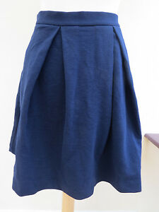Boden Maggie Ottoman Navy Mini Skirt  RRP £69.50 LOW STOCK SIZE 10 *LAST TWO*