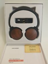 ANCDEEP ANCRETRO real wood High-end Active Noise Canceling Wireless Headphones