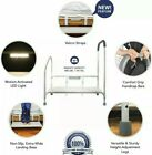 Step2Bed Bed Rails For Elderly with Adjustable Height Bed Step Stool & LED Light