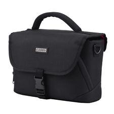 CADEN Padded Camera Bag Zippered Design Shockproof Black for Nikon Canon X1F1