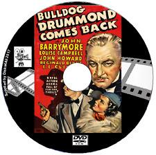 Bulldog Drummond Comes Back (1937) John Howard John Barrymore DVD