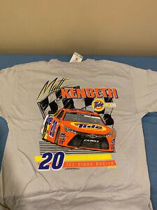 NWT MATT KENSETH #20 Tide  Nascar T Shirt Large  New