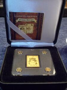 Goldbarren Gold 999, Frau Holle 1/500 in edler Geschenkbox mit Zertifikat