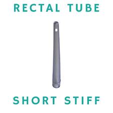 RECTAL TUBES - ENEMA COFFEE AND WATER - SHORT STIFF TIP