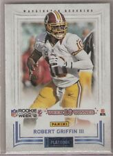 2012 PANINI PLAYBOOK WEEK 16 WINNER ROBERT GRIFFIN ROOKIE REDSKINS - FREE SHIP