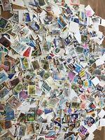 Australia stamps 100x picked at random off paper kiloware