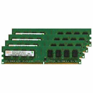 2GB For Hynix Desktop PC2-6400 Memory RAM DDR2-800MHz 240Pin Non-ECC Replacement