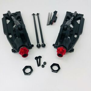 Arrma Kraton V4 2019 Rear Lower Suspension Arms, Dogbones, Axles, Hex, Hubs