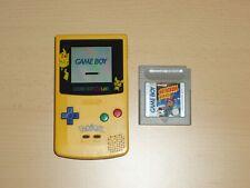 Nintendo Gameboy Color Konsole limited Pokemon / Pikachu Edition Gb Gbc gelb
