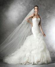 Pronovias Sleeveless Strapless Wedding Dresses