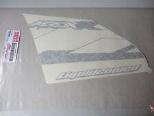 Yamaha Aufkleber Schriftzug Beinschutz links YQ50 Aerox 2003 Graphic left NEU