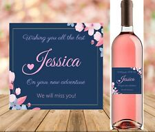 Personalised 18th/21st/30th/40th Birthday Wine Bottle Label