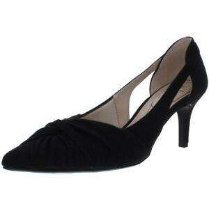 LifeStride Womens Sidney Faux Suede Pointed Toe Dressy Pumps Heels BHFO 3025