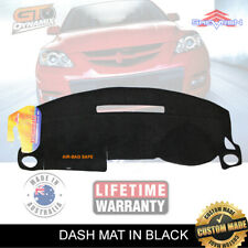 DASH MAT MAZDA 3 BK HATCH & SEDAN NEO MAXX 6/2003-11/2008 SP23 DM934 BLACK