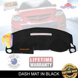 DASH MAT MAZDA 3 BK HATCH & SEDAN NEO MAXX 6/2003-11/2008 SP23 DM934 BLACK