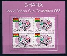 [36585] Ghana 1966 World Cup Soccer Football Souvenir Sheet MNH