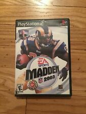 EA SPORTS NFL MADDEN 2003 - PS2 - COMPLETE W/MANUAL - FREE S/H (K)