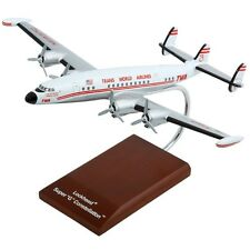 TWA Lockheed L-1049 Super Constellation Desk Top Display 1/100 Model ES Airplane