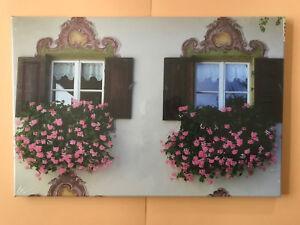 BILDER LEINWAND 60x40 cm  BILD ChieMando #5  Doppelfenster