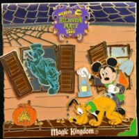 Disney Pin 49589 WDW MNSSHP 2006 Jumbo Haunted Mansion Mickey Grave Digger LE