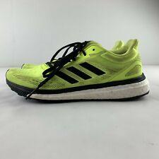 Adidas Response Boost Lt Men 5.5 Women 7.5 Neon Yellow Running Shoe Sneaker