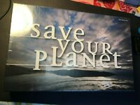NEW Save Your Planet ~The Diplomatic Solution Board Game SEALED FREE SHIPPING