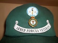 Women's Land Army & Timber Corps Veteran cap free postage.