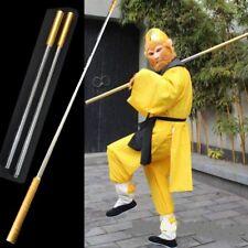 "L 64"" Wushu Martial arts stick Monkey King Golden cudgel igh quality steel #0096"