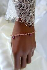 Handgefertigt Echte Edelstein-Armbänder mit Saphir