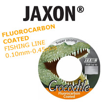 FLUOROCARBON COATED Fishing Line Jaxon Crocodile 2x150m connected spools