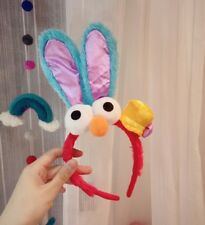 Universal Studios Sesame Street Rabbit Elmo headband ear plush Cosplay