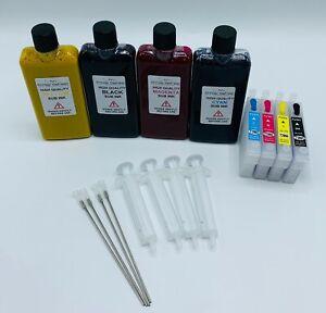 Refillable Sublimation Ink Cartridges Set For 29XL Epson XP-235 XP-245 XP-247