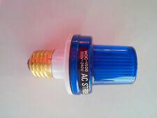 Stroboskop Blitzer blau, 230VAC, E27, Schausteller, Partykeller, Alarmanlage