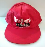 Vintage Marlboro Indy Racing Team '92 Vanguard Hat Baseball Cap Made In China