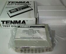 Tenma 72-5015, 120 VAC, 50-60 Hz, 20W, 2 MHz Sweep/Function Generator + Counter