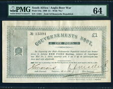South Africa 1900,Anglo-Boer War 1 Pound, 15391,P54a,PMG 64 UNC